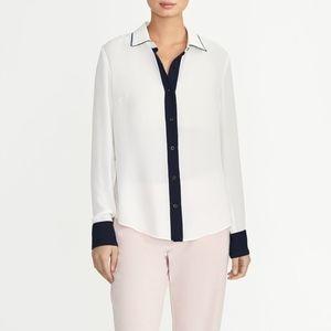 New Rachel Roy Collection Colorblock Shirt XL